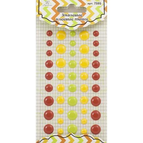 Эмалевые декоративные клеевые точки Рукоделие
