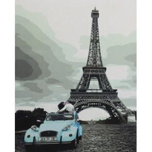 Парижский роман Раскраска картина по номерам на холсте