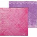 Розовый паттерн. Вдохновение Бумага двусторонняя для скрапбукинга, кардмейкинга Арт Узор