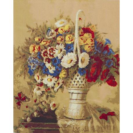 Раскраска по номерам Натюрморт картина 40х50 см на холсте ...