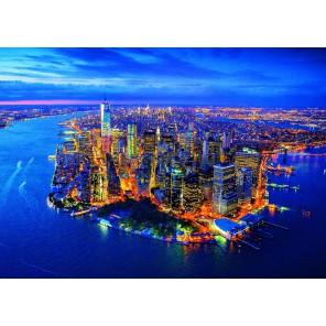 Нью-Йорк с высоты птичьего полёта Пазлы Educa