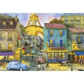 Парижские улицы Пазлы Educa