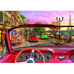 Париж в автомобиле Пазлы Educa