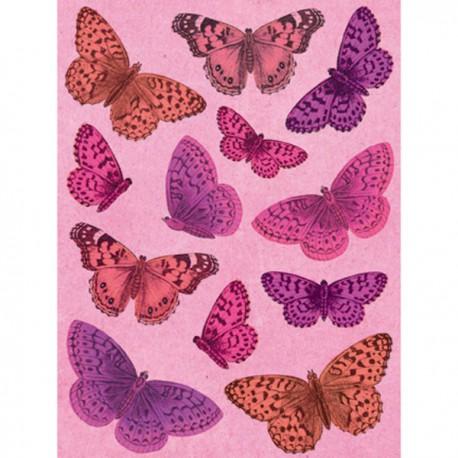 Бабочки Smitten Стикеры для скрапбукинга, кардмейкинга K&Company