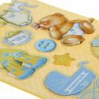 Наш малыш 3D cтикеры объемные для скрапбукинга, кардмейкинга Арт Узор