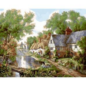 Сказочная страна Раскраска картина по номерам на холсте