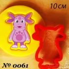 10 см Лунтик Форма для вырезания печенья и пряников