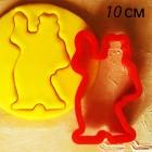 10 см Медведь Форма для вырезания печенья и пряников