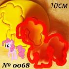 10 см Очаровательная Пинки Пай Форма для вырезания печенья и пряников
