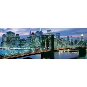 Бруклинский мост, Нью-Йорк панорама Пазлы Educa