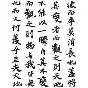 Иероглифы Штамп фоновый для скрапбукинга, кардмейкинга Plaid
