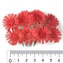Алые маргаритки Цветы для скрапбукинга, кардмейкинга Scrapberry's