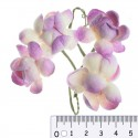 Цветы сакуры бело-фиолетовые для скрапбукинга, кардмейкинга Scrapberry's