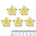 Желтые Цветы гвоздики для скрапбукинга, кардмейкинга Scrapberry's