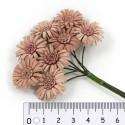 Шебби-розовые Цветы маргаритки для скрапбукинга, кардмейкинга Scrapberry's