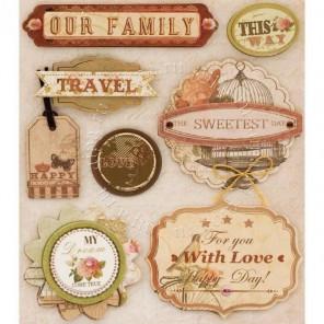 Семейные праздники Набор 3D стикеров Белоснежка