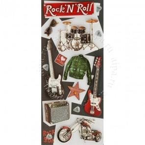 Рок и ролл Набор 3D стикеров Белоснежка