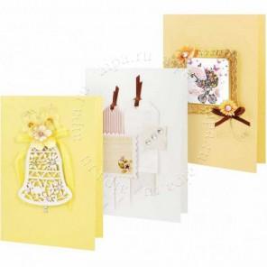 Солнечный Набор для создания 3-х открыток своими руками Белоснежка