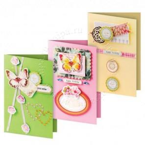 Весна Набор для создания 3-х открыток своими руками Белоснежка