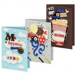 Шоу Набор для создания 3-х открыток своими руками Белоснежка