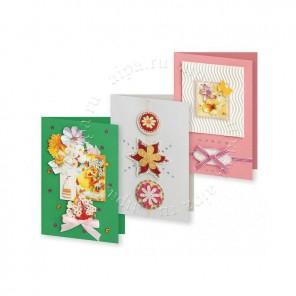 Вальс цветов Набор для создания 3-х открыток своими руками Белоснежка