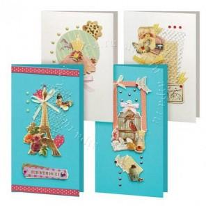 Грация Набор для создания 4-х открыток своими руками Белоснежка
