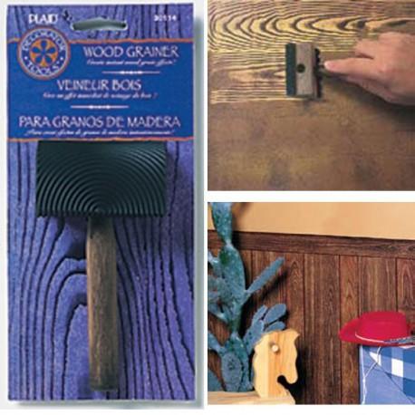 Деревянная текстура Инструмент для декора 30114 Plaid