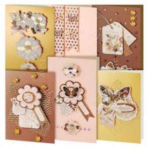 Бабочки Набор для создания 6-ти открыток своими руками Белоснежка