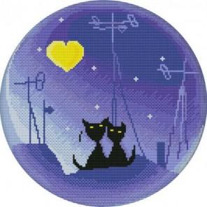 Лунная ночь Набор для вышивания Белоснежка