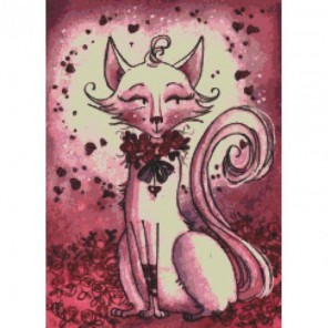 В розовых тонах Набор для вышивания Белоснежка