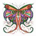 Кружевная бабочка Набор для вышивания Белоснежка