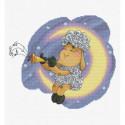 Овечка на Луне Набор для вышивания Белоснежка
