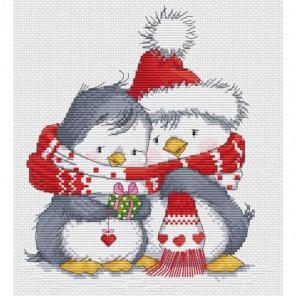 Пингвинчики Набор для вышивания Белоснежка