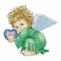 Милый ангел Набор для вышивания Белоснежка