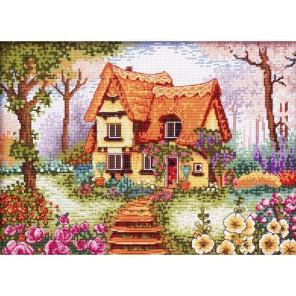 Сказочный домик Набор для вышивания Белоснежка