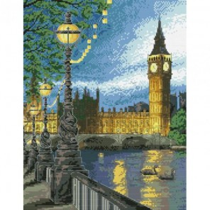 Вечерний Лондон Набор для вышивания Белоснежка
