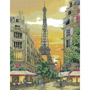 Париж Набор для вышивания Белоснежка