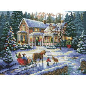 Встреча рождества Набор для вышивания Белоснежка