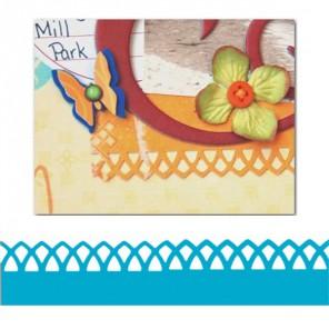Бордюр Арочная решетка Фигурный дырокол для скрапбукинга, кардмейкинга Martha Stewart Марта Стюарт