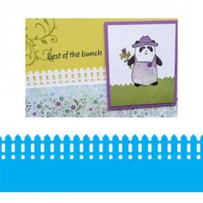 Бордюр Забор дачный Фигурный дырокол для скрапбукинга, кардмейкинга Martha Stewart Марта Стюарт