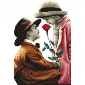 Роза для леди Набор для вышивания Белоснежка