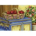 Корзинка с яблоками Набор для вышивания Белоснежка