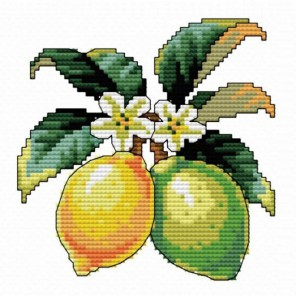 Лимончики Набор для вышивания Белоснежка