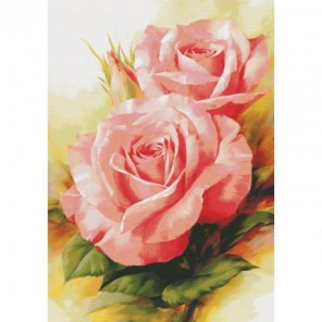 Королевские розы Набор для вышивания Белоснежка