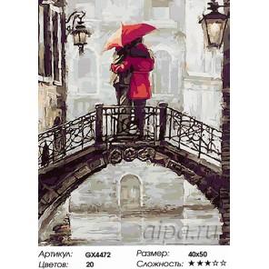 По струнам дождя Раскраска картина по номерам на холсте