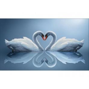 Отражения любви Набор для вышивания Белоснежка