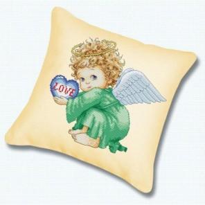 Милый ангел Подушка Набор для вышивания Белоснежка