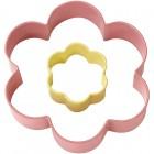 Цветок большой и цветок маленький Цветная форма для вырезания печенья Wilton ( Вилтон )