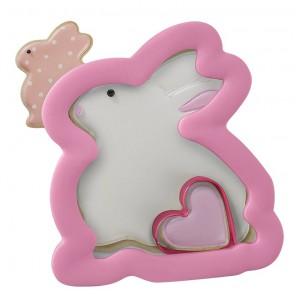 Зайка с сердечком Форма для вырезания печенья Wilton ( Вилтон )