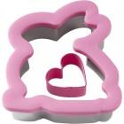 Зайка с сердечком Форма для вырезания печенья и пряников Wilton ( Вилтон )